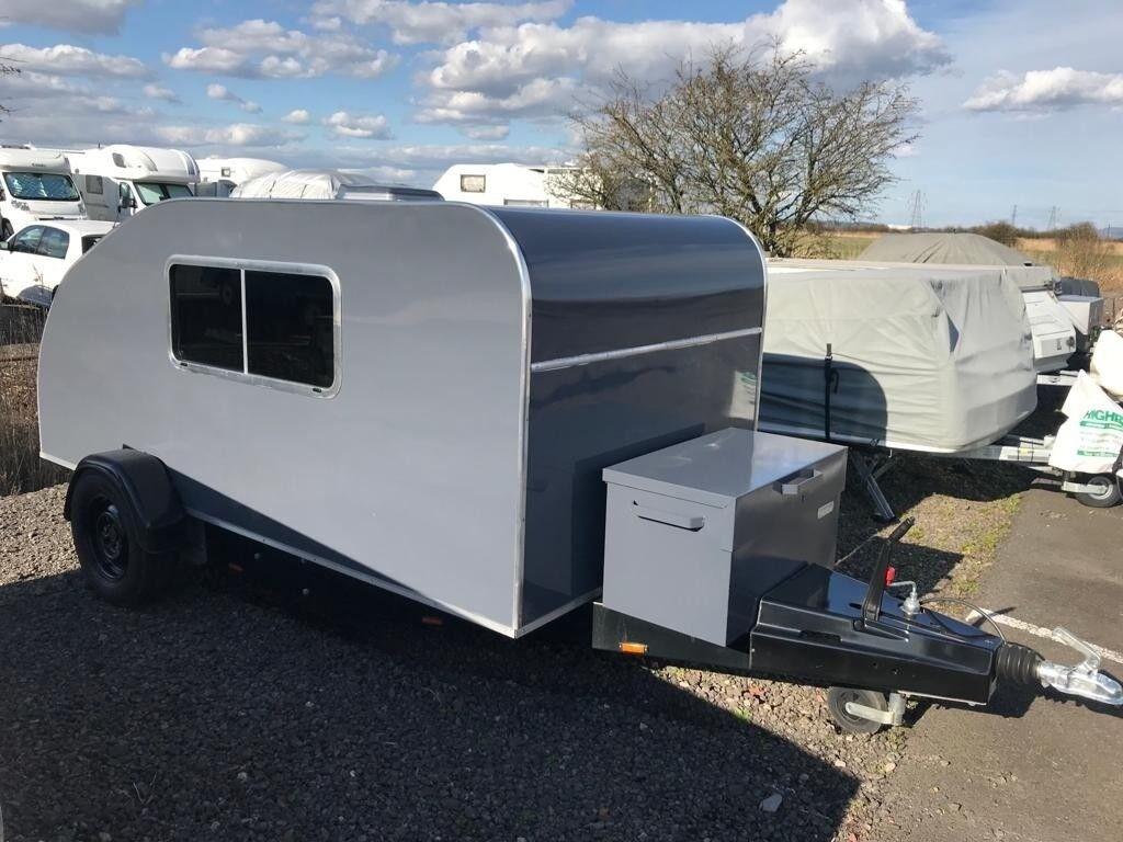 REDUCED Caravan Camping Pod Teardrop Trailer Micro