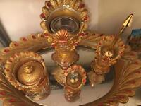 Rococo ornate Decorative item mirror tray