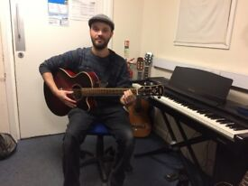Guitar lessons with a fully qualified tutor. £15 per 30 minute lesson.