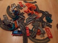 thomas the tank track master train set over 70 peices used once ideal xmas present