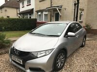 2012 Honda Civic 2.2 i DTEC ES Hatchback VERY LOW MILEAGE