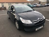2005 55 CITROEN C4 1.6HDI DIESEL MOTED MARCH 19 SERVICE HISTORY PX WELCOME £695