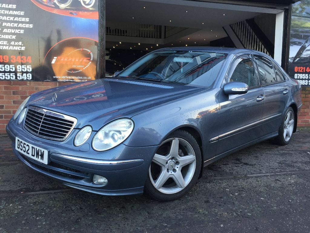 mercedes benz e class 2 7 e270 cdi avantgarde 4dr low miles 12 months mot in edgbaston west. Black Bedroom Furniture Sets. Home Design Ideas
