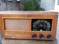 Ferguson Vintage Valve Radio with Bluetooth