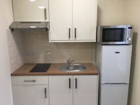 Fully Furnished Studio Flat including bills. Chesterfield Town Centre