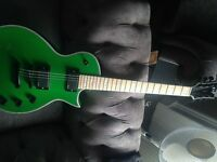 Mad Green Eclipse Styled Electric Guitar