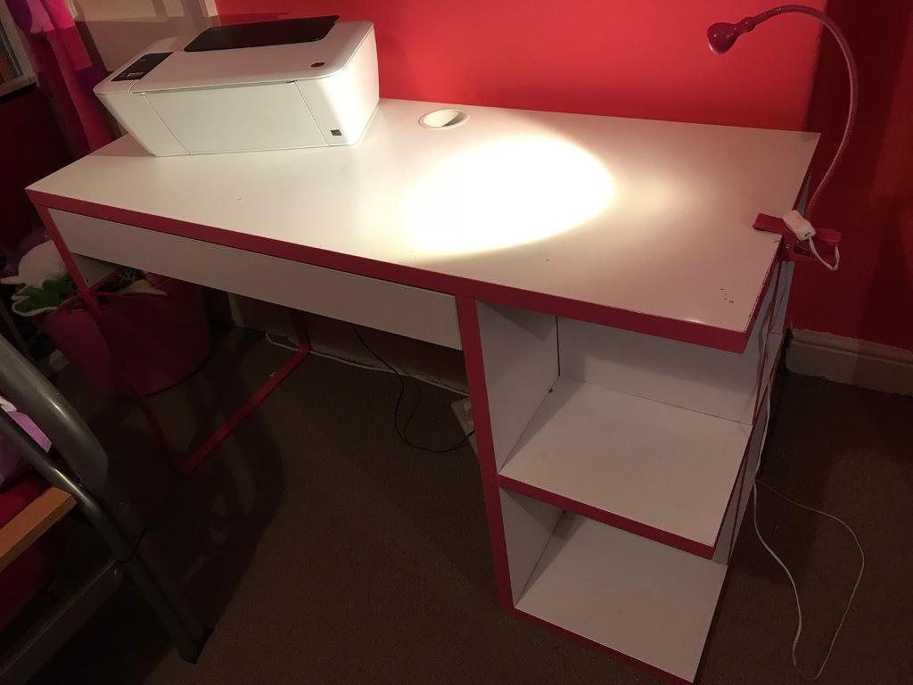 Girls ikea desk