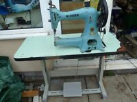 EXTRA HEAVY DUTY 45K56 CYLINDER ARM LEATHER SINGER SEWING INDUSTRIAL MACHINE