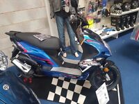 Brand new AJS Firefox 50cc scooter, moped, commuter bike, Finance options available £1179
