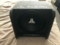 JL Audio W0v3 Subwoofer and Pioneer GM-D8601 Amplifier