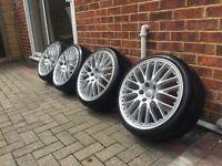 """BBS Speedline Style 18"""" wheels for VW/Audi"""