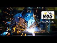 M&S Welding specialist or all your Welding Fabrication steel work best prices, best welder