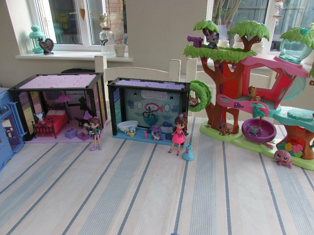 Littlest Pet Shop Playsets and Characters