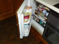 FRIDGE INTEGRATED HOTPOINT - EASY TO SWAP FRONT PANEL