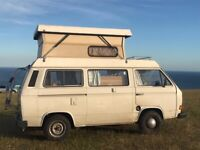 PROJECT or PARTS - VW T25 Campervan - 2L air cooled engine