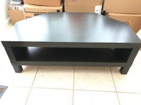 IKEA Lack black TV cabinet