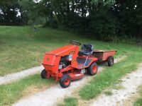 """Ride On Mower 10hp Westwood Tractor Electric Start. Good 36"""" Deck. With tipping trailer"""