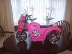 Kids Electric (Battery Powered) Trike - PINK