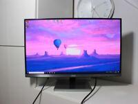 AOC 25inch IPS Monitor, QHD 2560x1440, Boxed