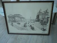 GALLERY PRINT OF LIME STREET, LIVERPOOL 1890 (POSTED PICTURES, PRINTS, CANVAS, ART, PAINTINGS).