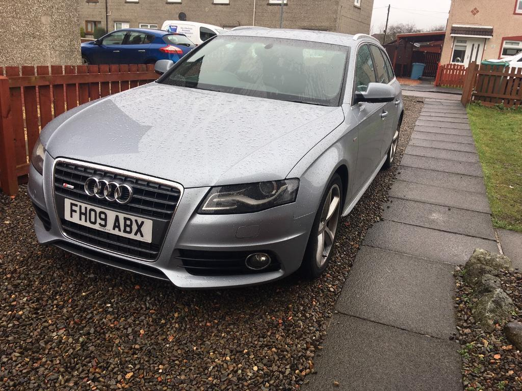 audi a4 avant tfsi estate b8 2009 2 0 s line swap px in east end glasgow gumtree. Black Bedroom Furniture Sets. Home Design Ideas