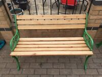 OLD CAST IRON BENCHES