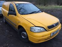 2000 Vauxhall Astra Envoy DTI 1.8 BREAKING FOR SPARES
