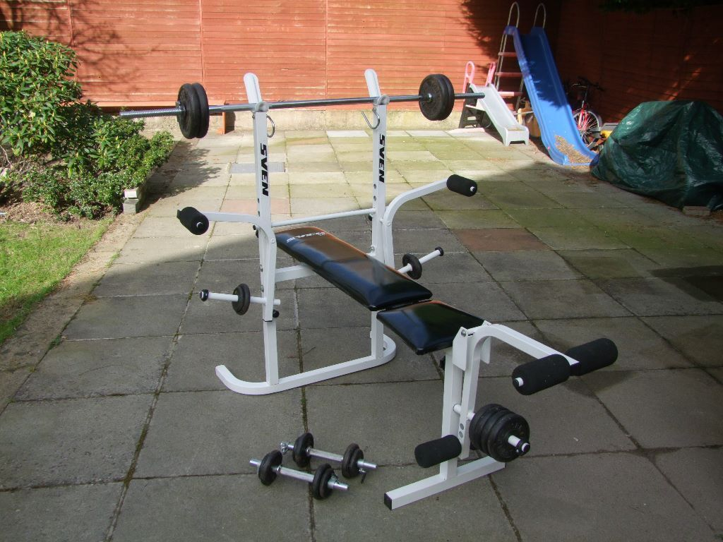 Sven Weight Training Heavy Duty Work Out Bench With Large