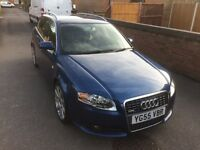 AUDI A4 S LINE TDI ESTATE LOW MILAGE