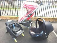QUINNY BUZZ AND MAXI COSI TRAVEL SYSTEM ISOFIX BABY CAR SEAT BASE