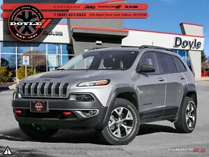 2016 Jeep Cherokee TRAILHAWK 4WD 1-OWNER TRADE-IN!!!