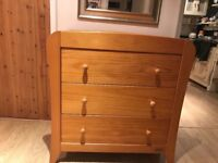 Mamas & Papas Fern Collection changing table and drawers
