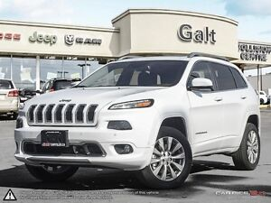 2016 Jeep Cherokee | OVERLAND | 4X4 |DEALER DEMO SELL OUT | LEAT