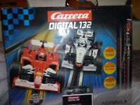 Carrera 132 Digital slot racing set with lane changing.New opened to take photos only.