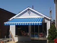 CUSTOM-MADE AWNINGS & RETRACTABLES