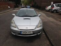 Toyota Celica VVTi Coupe 1.8l 12Month MOT - Red Leather interier- DVD entertainment system + Sat Nav