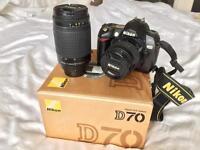 Nikon D70 + TWO Nikkor lenses