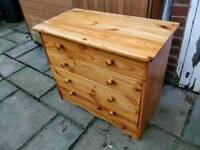£40 pine chest of drawers farmhouse shabby chic project