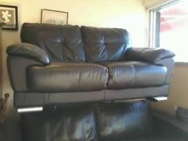 Stunning Italian leather sofa