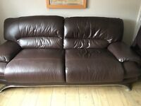 3 seater and 2 seater matching sofas