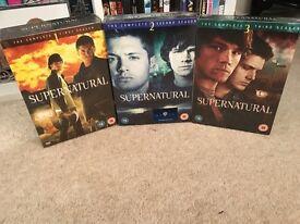 SUPERNATURAL DVD BOXSETS