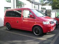 PRICE DROP - VW T5 CAMPERVAN, FSH, 88500 MILES, 4 BERTH WITH REIMO POP-UP ROOF & DRIVEAWAY AWNING