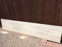 kitchen worktop (Howdens) Grey Oak