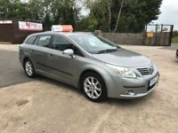 Late 2009 Toyota Avensis 2.0 D4D Diesel Estate **Full History* (FINANCE AND WARRANTY) (passat,accord