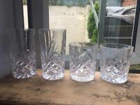 4 Piece Glass Set