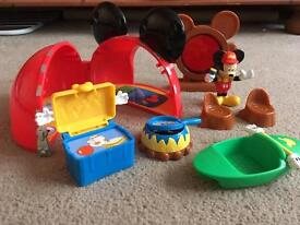 Mickey Mouse playset
