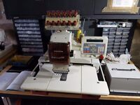 Toyota AD800 Industrial Embroidery Machine
