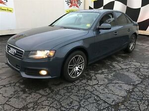 2011 Audi A4 2.0T, Automatic, Leather, Sunroof, AWD