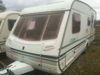 Abbey sarari 550s 2004 fixed bed touring caravan