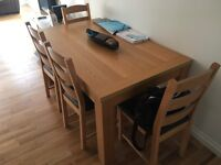 Dining Table and x4 Chairs
